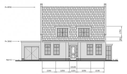 Nieuwe vrijstaande woning met klassieke details